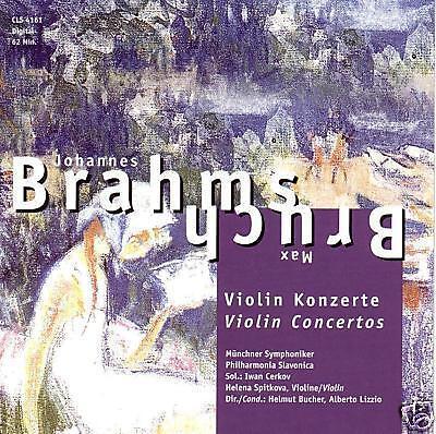 CD Johannes Brahms und Max Bruch Violin Concerto