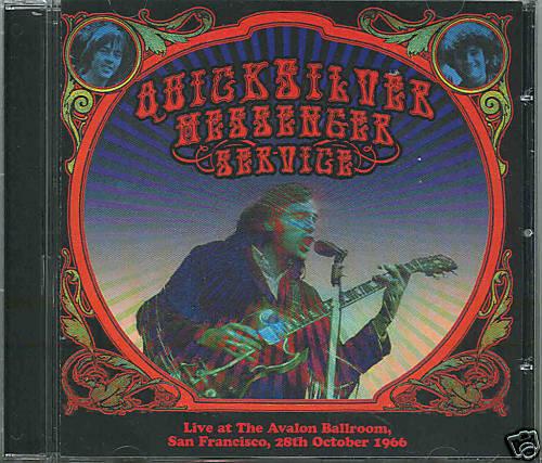 QUICKSILVER MESSENGER SERVICE Live October 1966 | CD