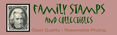Family Stamps and Collectibles