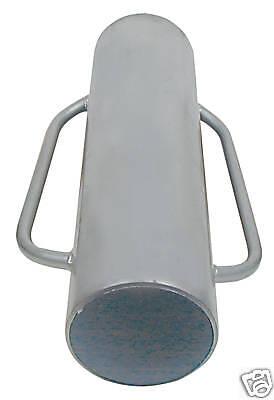 Handramme Pfahlramme Ramme 13 kg Zaunbau Metallramme Weidezaun Pfahl NEU