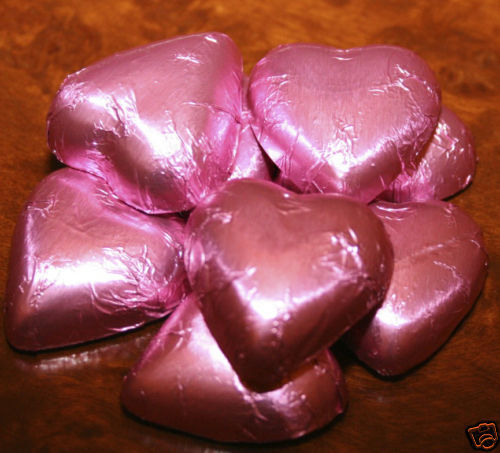 100 Chocolate Cadbury Hearts - Weddings, Birthdays, Bombonniere, Christenings 6