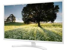 """LG 32MP58HQ-W White 31.5"""" FHD IPS Widescreen LED Backlight Monitor 5ms 1920 x 10"""