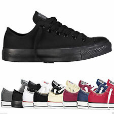 Converse All Star Low Tops Unisex Canvas Trainers