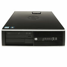 HP 8200 Elite SFF Intel i5 2400 3.1GHz quad core 16GB Ram 2TB HDD Win 10 Profess