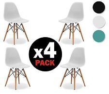 Set di 4 sedia per sala da pranzo tavolo cucina  moderne robusto design nordico