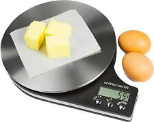 5kg Digital LCD Kitchen Scales by Andrew James