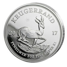 1 oz Silber Krügerrand 2017 - 1 Rand Südafrika - 50 Jahre Jubiläum