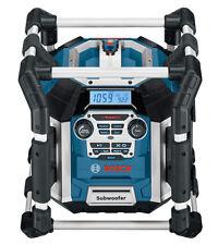Bosch Radiolader Power-Radio Baustellenradio GML 50 für 14,4 / 18 V Li-Ion