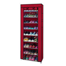 New Portable Shoe Rack Shelf Storage Closet Organizer Cabinet with Cover