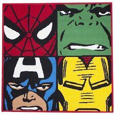 Marvel Defenders Comics Square Floor Rug Mat