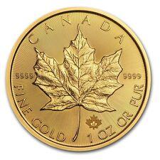 2017 Canada 1 oz Gold Maple Leaf BU - SKU #115850