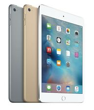 "Apple iPad Mini 4 7.9"" Retina Display 128 GB Wi-Fi Only Tablet NEW"