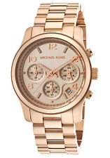 Michael Kors Runway Rose Gold Womens Watch