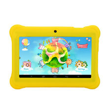 "iRULU Tablet PC 7"" Android 4.4 8GB BabyPad Quad Core Dual Cam Kids w/ Earphone"